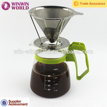 Useful Gifts Paperless Washable Reusable Pour Over Coffee Maker